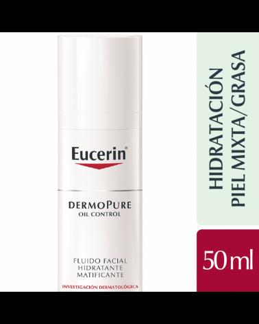 Dermopure Oil Control Fluido Facial Hidratante Matificante Eucerin - 1