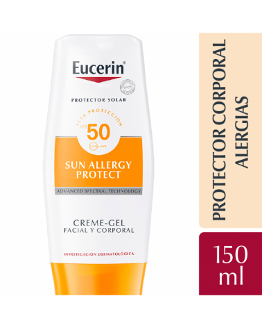 Eucerin Sun Body Crema Gel Fps50 150Ml Eucerin - 1