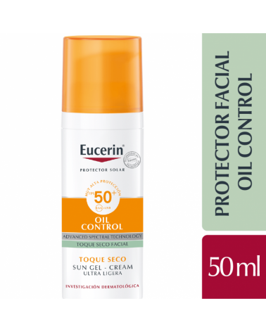 Eucerin Sun GelCrema Facial Toque Seco SPF50+ Eucerin - 1