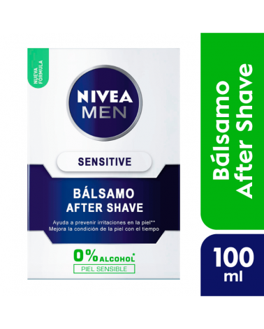 NIVEA Men Bálsamo After Shave Sensitive 100ml Nivea - 1