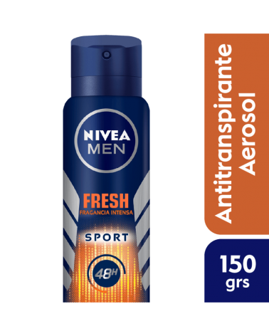 NIVEA MEN DESODORANTE Spray Fresh Sport 150ml Nivea - 1