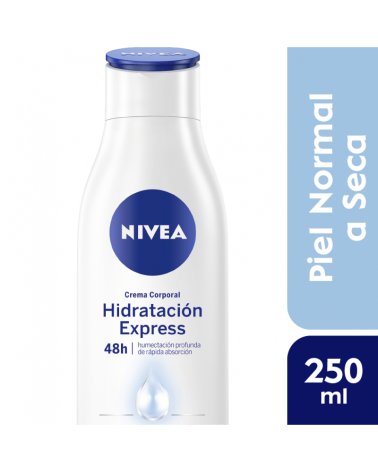 NIVEA Body Hidratación Express - Piel Normal a Seca 250ml. Nivea - 1