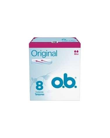 Tampones O.B.® Originales Mini X8 Un. O.B. - 1