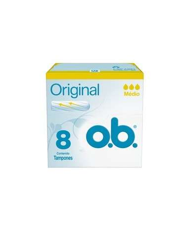 Tampones O.B.® Originales Medio X8 Un. O.B. - 1