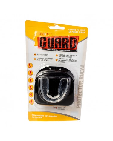 BUCAL GUARD DEPORTISTA+ESTUCHE PRO BUC BUCAL TAC - 1