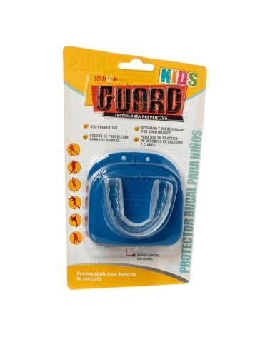 BUCAL GUARD KIDS + ESTUCHE PRO BUC BUCAL TAC - 1