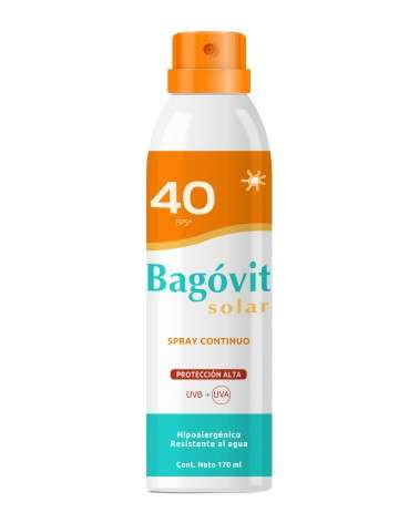 Bagovit Solarfps 40 Spray Continuo X 170 Ml Bagovit - 1