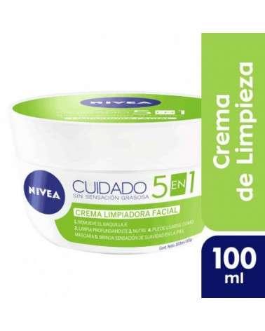 Nivea Facial Cuidado 5 En 1 Crema Limpiadora Nuevo! Nivea - 1