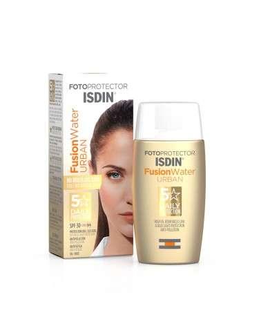 Fotoprotector ISDIN Fusion Water Urban SPF 30 Nuevo! Isdin - 1