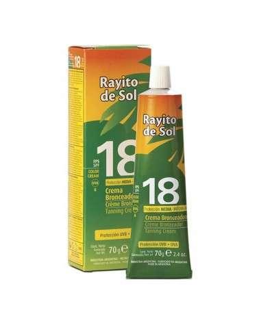 Rayito De Sol Crema Bronceadora Fps 18 X 70G Rayito de Sol - 1