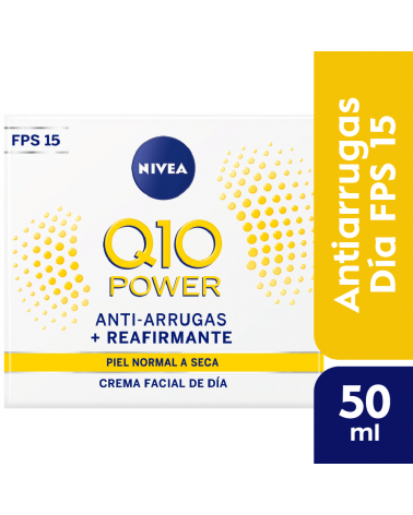 NIVEA Facial Q10 Power Día FPS 15 50 ml Nivea - 1