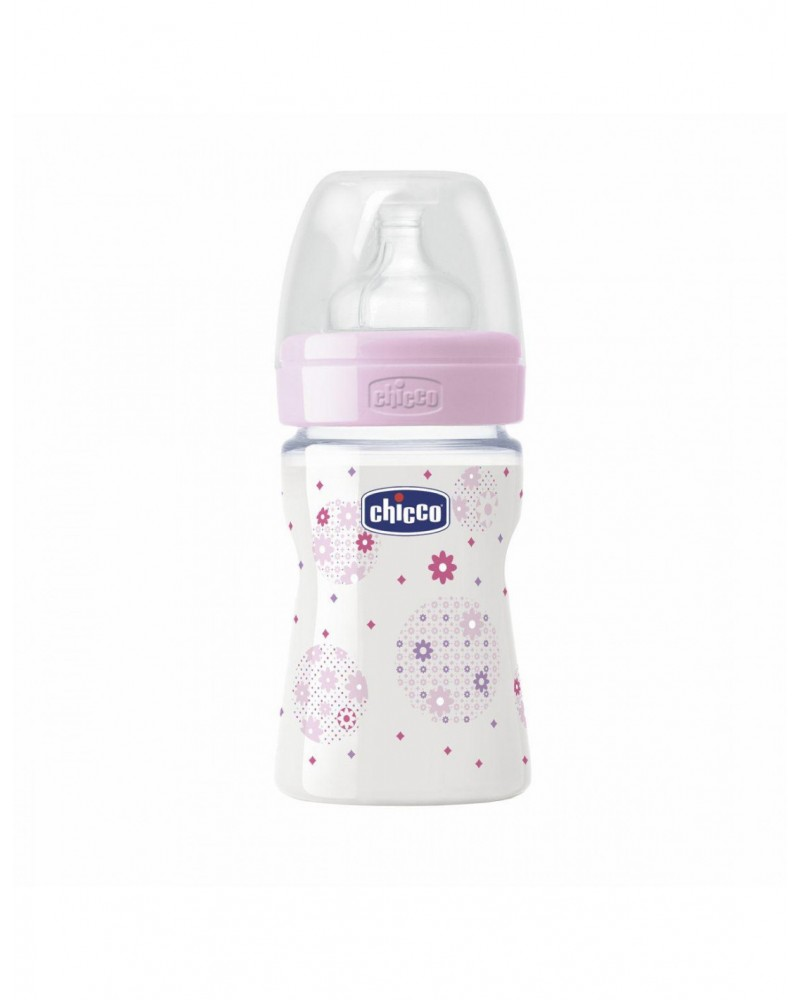 Mamadera Well-Being - Flujo Lento 150 Ml Nena Chicco - 1