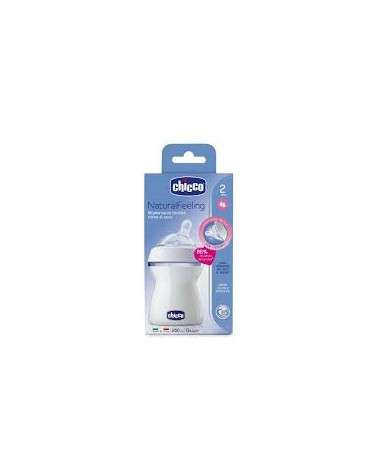 CHICCO NaturalFeeling 2m+ Flujo medio 250ml Chicco - 2