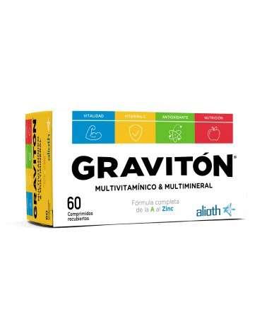 Gravitón Multivitamínico & Multimineral En Comprimidos X60  - 1