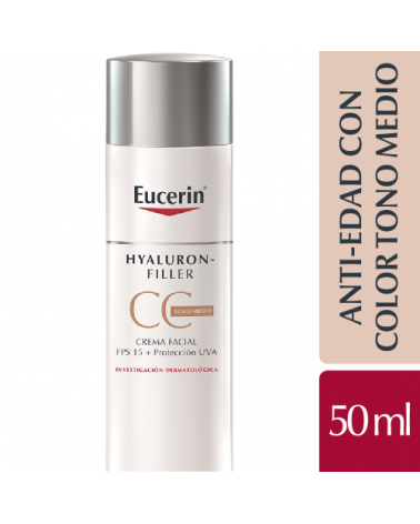 Hyaluron Filler CC Cream Medio 50 ml Eucerin - 1
