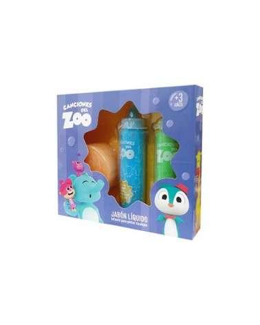 Disney Canciones Del Zoo Jabón Liquido Azulejos  - 1