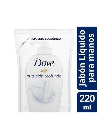 Dove Antibacterial 220Ml Doypack Jab Liq Dove - 1