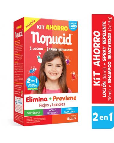 NOPUCID KIT AHORRO LOC+SPRAY NOPUCID - 1