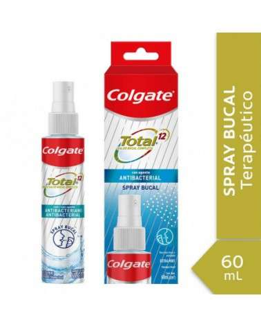 Spray Bucal Colgate Total 12 60Ml  - 1