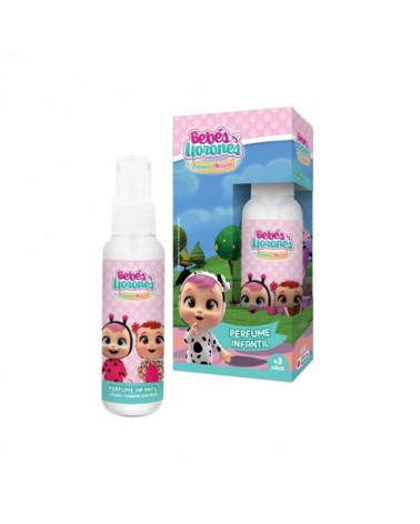 Perfume Infantil Body Splash x 65ml Bebes Llorones  - 1