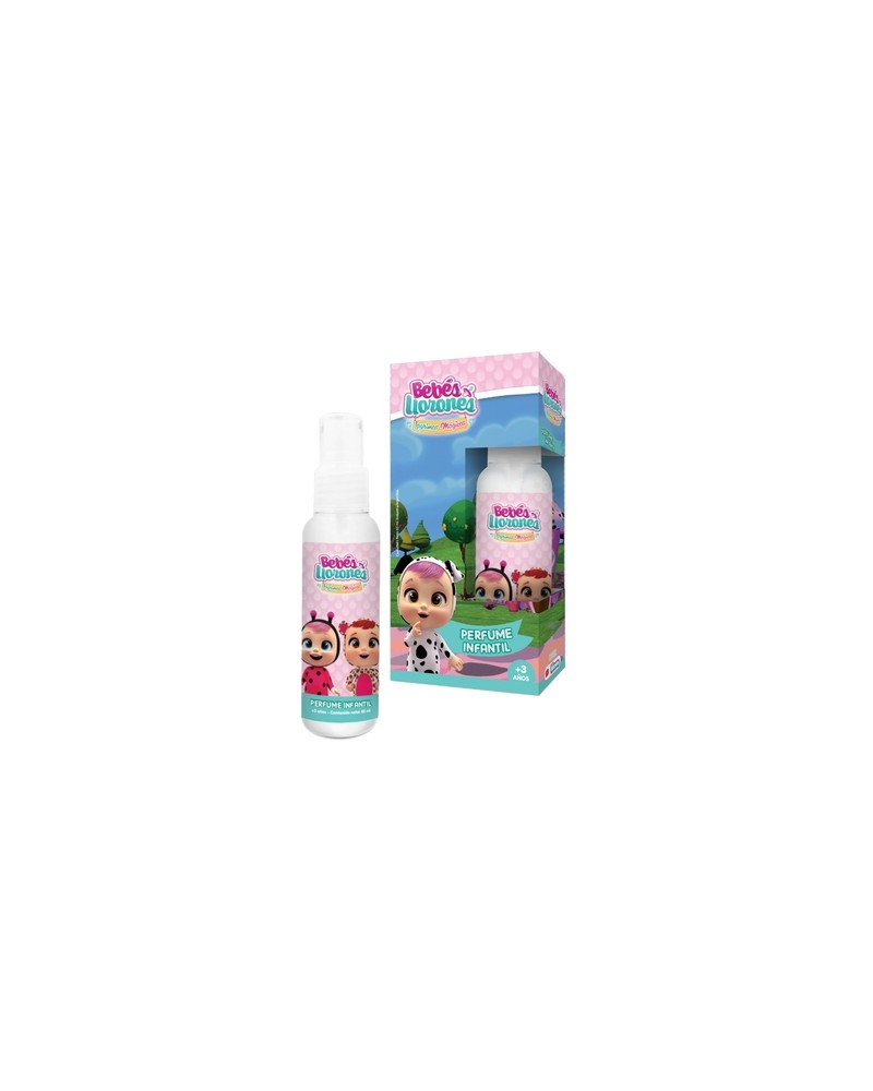 Perfume Infantil Body Splash x 65ml Bebes Llorones  - 1
