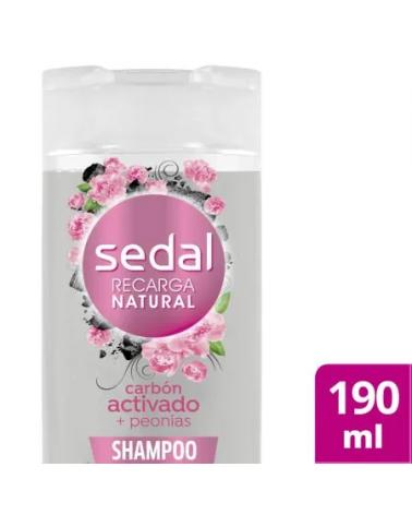 Sedal Shampoo X190Ml Carbon Activado Y Peonias  - 1
