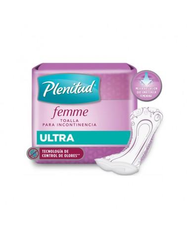 Poise Toalla Ultra Plenitud Femme X 20 Unidades  - 1