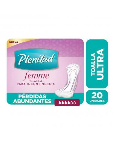 Poise Toalla Ultra Plenitud Femme X 20 Unidades  - 2