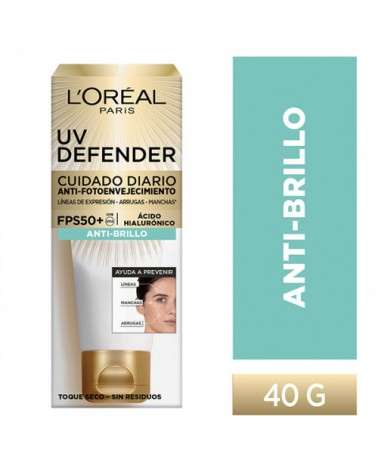 L'Oreal Uv Defender Non Tinted Fps+50 40G  - 1