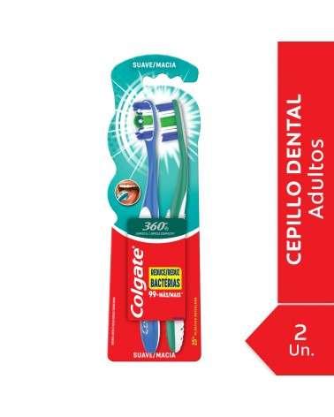 Cepillo Dental Colgate 360º Suave 2Unid Colgate - 1