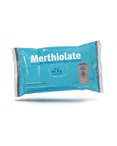 Toalla Antibacterial Merthiolate X10U  - 1