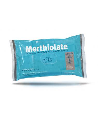 Toalla Antibacterial Merthiolate X40U  - 1