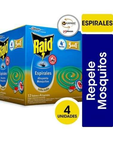 Raid X 4 Espirales  - 1