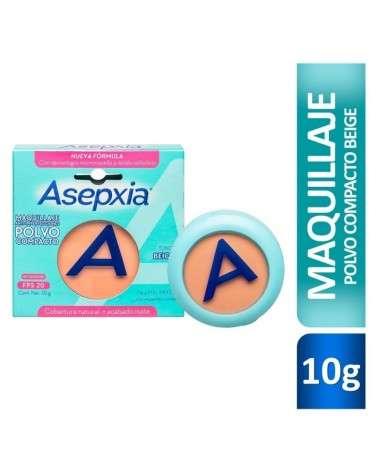Asepxia Maquillaje En Polvo Beige Medio 10Grs Asepxia - 1