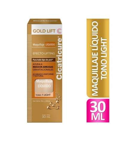 Cicatricure Gold Lift Maquillaje Gold Lift Light 30 Ml Cicatricure - 1