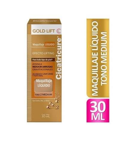 Cicatricure Gold Lift Maquillaje Gold Lift Medium  30 Ml Cicatricure - 1
