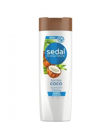 Sedal Shampoo Bomba Coco Reparación Intensa 190Ml Sedal - 1