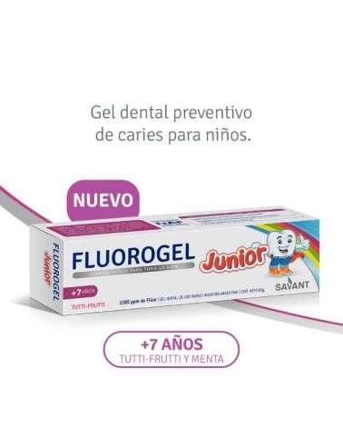 Fluorogel - Pasta Dental Junior Tutti-Frutty 60 G Fluorogel - 1