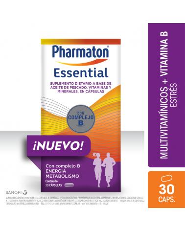 Pharmaton Essential X 30 Cápsulas Pharmaton - 1