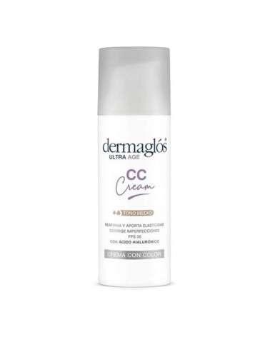 Dermaglos Ultra F Cc Cream Tono Medio Cr 50 Gr Dermaglós - 1