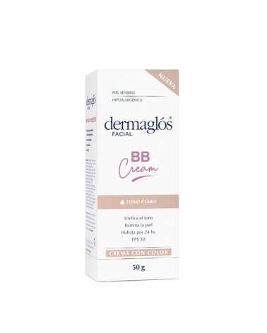 Dermaglos Facial Bb Cream Tono Claro Cr 50 Gr Dermaglós - 1