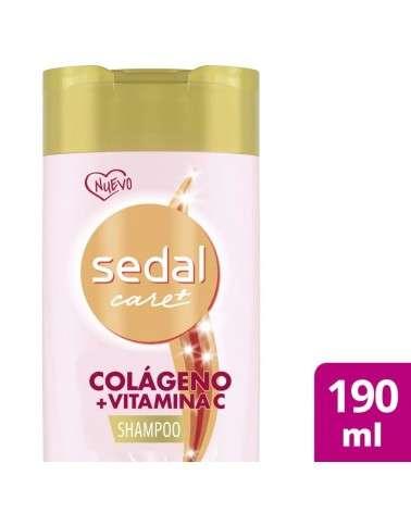Shampoo Sedal Colágeno y Vitamina C x190ml Sedal - 1
