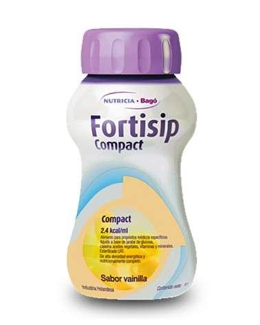 FORTISIP COMPACT - Vainilla botella x125 ml Nutricia Bagó - 1