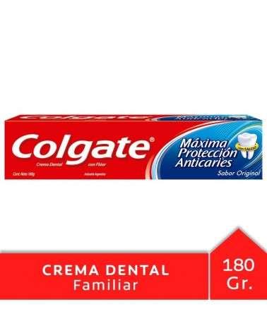 Crema Dental Colgate Máxima Protección Anticaries 180G Colgate - 1