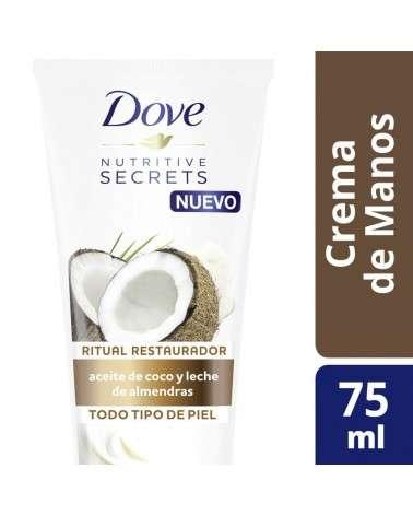 DOVE CREMA MANOS COCO Y ALMENDRAS 75ML Dove - 1