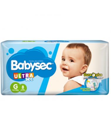BABY SEC ULTRA SEC G X 8 BABY SEC - 1
