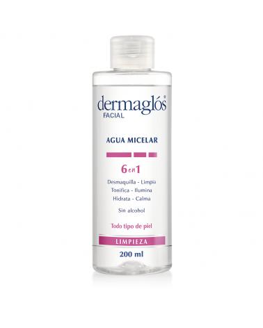 Agua Micelar Dermaglós 6 en 1 x200ml Dermaglós - 1