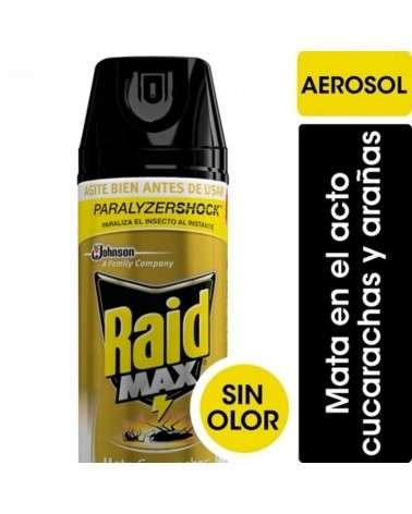 Raid Insecticida x360Cc Max Sin Olor Cucarachas RAID - 1