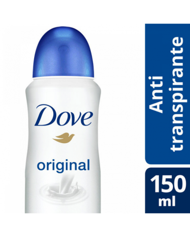 Dove Aerosol Antitranspirante Original X89G/150Ml Dove - 1