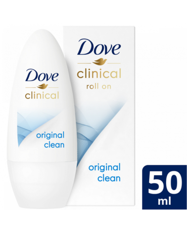 Dove Desodorante Rollon Clinical Original X50Ml Dove - 1